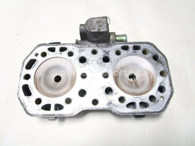 A used Cylinder Head from a 1997 RMK 500 Polaris OEM Part # 3085456 for sale. Check out our online catalog for more parts that will fit your unit!
