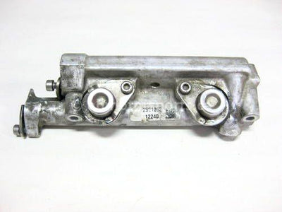 Used 2013 Polaris RMK PRO 800 Snowmobile OEM part # 2521143 fuel rail for sale