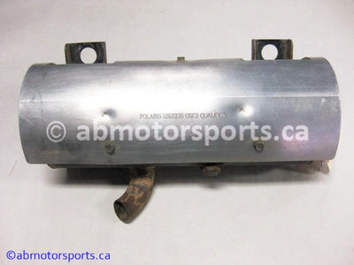 Used Polaris UTV RANGER 570 EFI OEM part # 1262335-489 exhaust silencer for sale