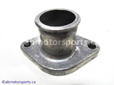 Used Skidoo LEGEND 800 SDI OEM part # 420922025 coolant outlet socket for sale