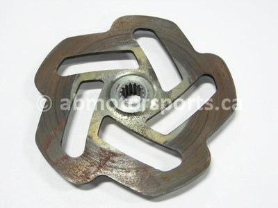 Used Skidoo SUMMIT 1000 HIGHMARK X OEM part # 507032400 brake disc for sale