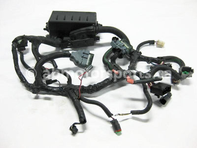 Used Skidoo SUMMIT 1000 HIGHMARK X OEM part # 515176237 multi function plate harness for sale