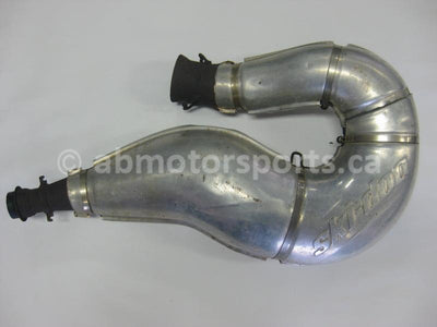 Used Skidoo SUMMIT 600 HO OEM part # 514053735 exhaust tuned pipe for sale