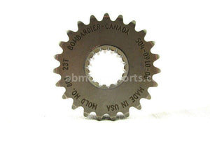 A used Chain Gear 23T from a 2007 MXZ RENEGADE 800 X HO Ski Doo OEM Part # 504091000 for sale. Check out our online catalog for more parts!