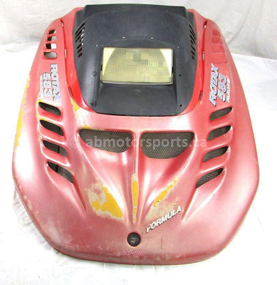 A used Hood from a 1996 FORMULA STX 583 Skidoo OEM Part # 572079320 for sale. Ski Doo snowmobile parts… Shop our online catalog… Alberta Canada!