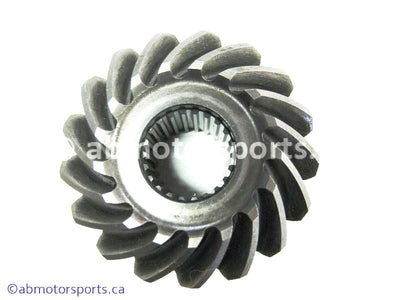 Used Suzuki ATV Eiger 400 OEM part # 24921-44D10 or 24921-44D00 second driven bevel gear for sale