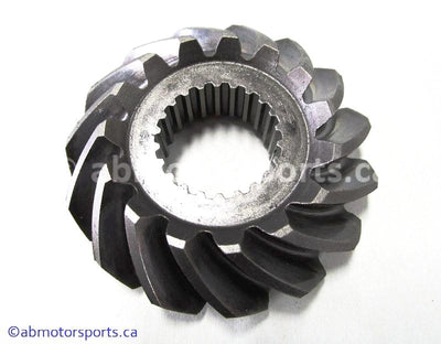 Used Suzuki ATV Eiger 400 OEM part # 24911-44D11 gear second drive bevel for sale