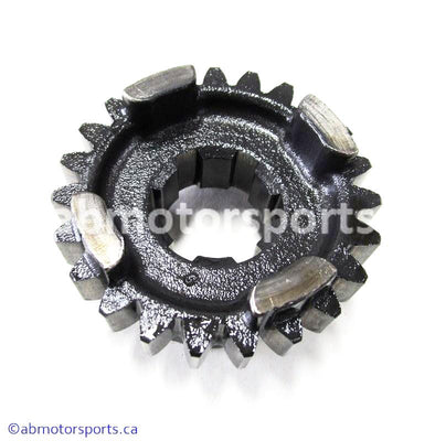 Used Suzuki ATV Eiger 400 OEM part # 24341-18A02 fourth driven gear for sale