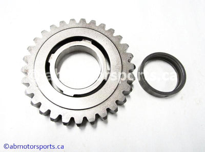 Used Suzuki ATV Eiger 400 OEM part # 24321-18A01 second driven gear for sale