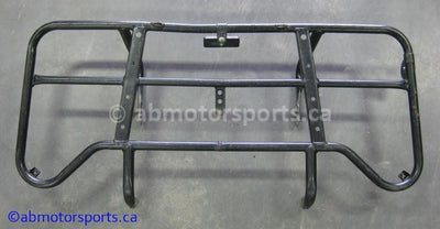 Used Suzuki ATV Eiger 400 OEM part # 46300-38FD0-019 rear rack for sale