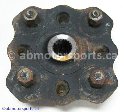 Used Suzuki ATV Eiger 400 OEM part # 54110-38F11 left front hub for sale