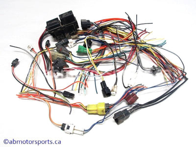 Used Suzuki ATV Eiger 400 OEM part # 36610-38FB1 wiring harness connectors for sale