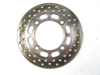 A used Brake Disc Front from a 2006 KING QUAD 700 Suzuki OEM Part # 59211-31G00 for sale. Check out our online catalog for more parts that will fit your unit!