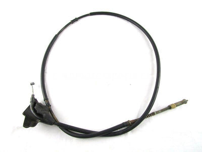 A used Parking Brake Cable from a 2006 KING QUAD 700 Suzuki OEM Part # 58810-31G00 for sale. Check out our online catalog for more parts!