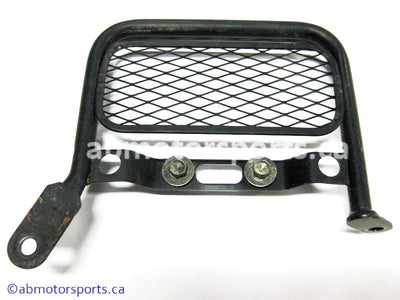 Used Suzuki Dirt Bike DR Z250 OEM part # 16640-13E01 oil cooler guard for sale