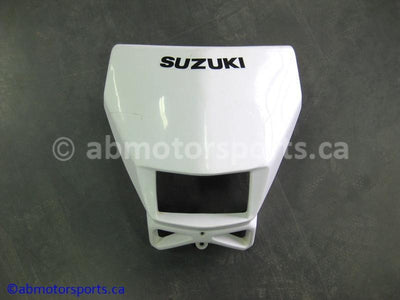 Used Suzuki Dirt Bike DR Z250 OEM part # 51810-29F00-30H head light cover for sale