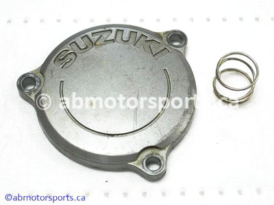 Used Suzuki Dirt Bike DR Z250 OEM part # 16512-12E00 oil filter cap for sale