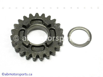 Used Suzuki Dirt Bike DR Z250 OEM part # 24261-14D02 sixth drive gear 23 teeth for sale