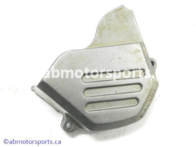 Used Suzuki Dirt Bike DR Z250 OEM part # 11360-13E00 engine sprocket cover for sale