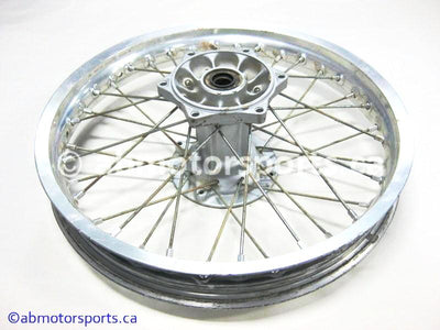 Used Suzuki Dirt Bike DR Z250 OEM part # 64111-14D10 rear rim with hub for sale