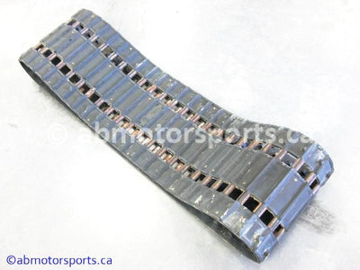 Used Arctic Cat Cougar 500 OEM part # 0102-317 16 inch by 121 inch track for sale