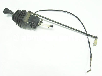 Used Yamaha ATV GRIZZLY 660 SE OEM part # 5KM-18300-02-00 shifter assembly for sale