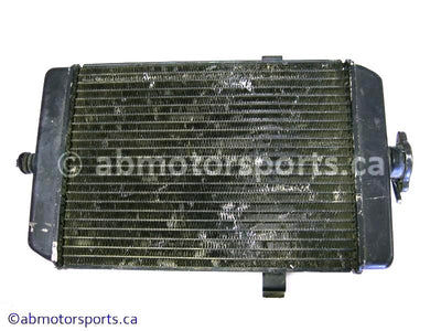 Used Yamaha ATV RAPTOR 660 OEM part # 5LP-12461-00-00 radiator for sale