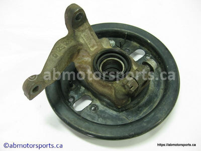Used Yamaha ATV BIG BEAR 350 OEM part # 3HN-23501-02-00 left front knuckle for sale