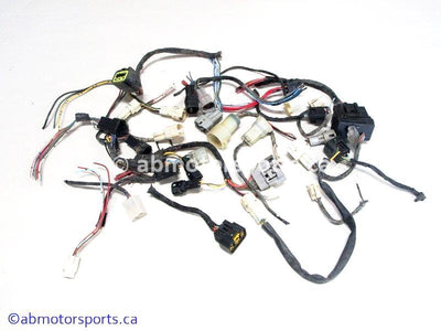 Used Yamaha ATV GRIZZLY 660 OEM part # 5KM-82590-20 main wiring harness connector ends for sale