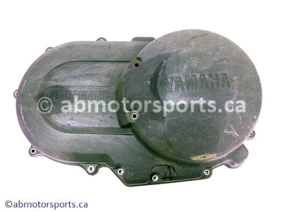 Used Yamaha ATV GRIZZLY 660 OEM part # 5KM-15431-00-00 clutch cover for sale