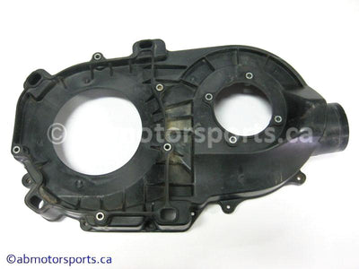 Used Yamaha ATV GRIZZLY 660 OEM part # 5KM-15421-00-00 inner clutch cover for sale