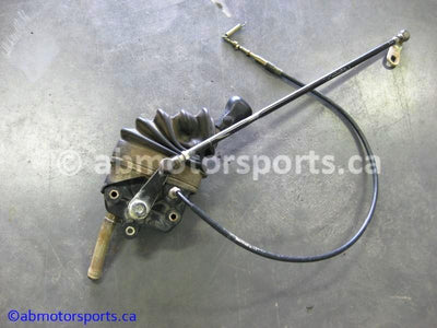 Used Yamaha ATV KODIAK 450 OEM part # 5GH-18300-00-00 shifter assembly for sale