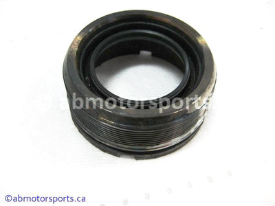 Used Yamaha ATV KODIAK 450 OEM part # 29U-46125-00-00 rear nut bearing retainer for sale