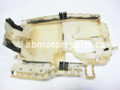 Used Yamaha ATV GRIZZLY 660 SE OEM part # 5KM-2414H-00-00 tank heat protector for sale