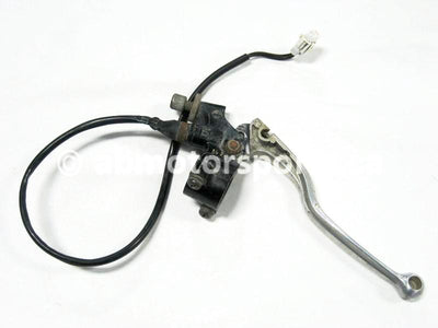 Used Yamaha ATV GRIZZLY 660 SE OEM part # 5KM-26111-00-00 OR 5KM-26111-20-00 left lever holder for sale