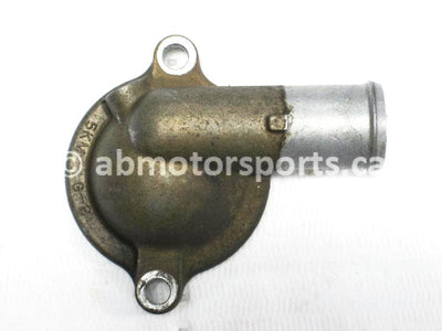 Used Yamaha ATV GRIZZLY 660 SE OEM part # 5KM-12413-01-00 OR 5KM-12413-00-00 thermostat cover for sale
