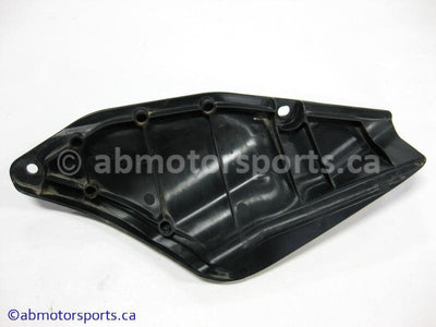 Used Yamaha ATV GRIZZLY 700 OEM part # 3B4-24129-00-00 left fuel tank cover for sale