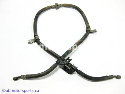 Used Yamaha ATV GRIZZLY 700 OEM part # 3B4-25873-00-00 front brake hose for sale