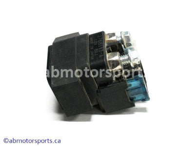Used Yamaha ATV GRIZZLY 700 OEM part # 3B4-81940-00-00 starter relay for sale