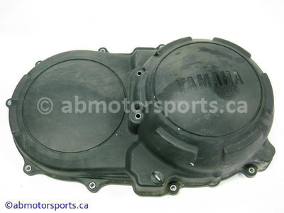 Used Yamaha ATV GRIZZLY 700 OEM part # 3B4-15431-00-00 clutch cover for sale