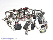 Used Yamaha ATV GRIZZLY 660 OEM part # 5KM-82590-00-00 wiring harness connectors for sale