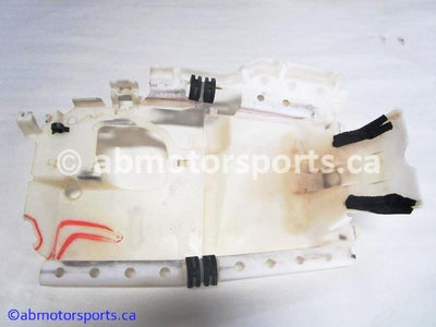 Used Yamaha ATV GRIZZLY 660 OEM part # 5KM-2414H-00-00 fuel tank heat shield for sale