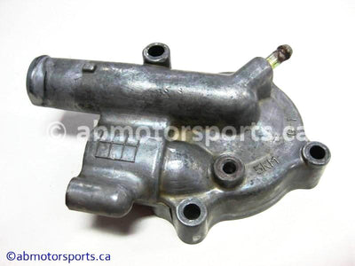 Used Yamaha ATV GRIZZLY 660 OEM part # 5KM-12422-00-00 water pump housing for sale