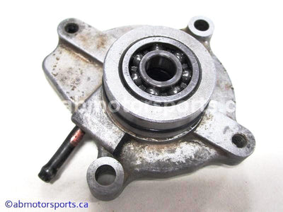 Used Yamaha ATV GRIZZLY 660 OEM part # 5KM-12421-00-00 water pump housing for sale