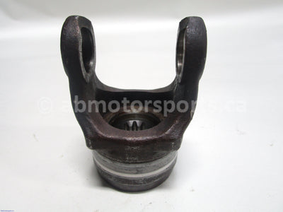 Used Yamaha ATV GRIZZLY 660 OEM part # 5KM-46146-00-00 front prop shaft yoke for sale