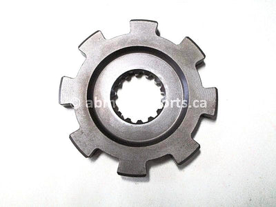 Used 2002 Yamaha Grizzy 660 OEM part # 5KM-17473-00-00 transmission stopper gear for sale