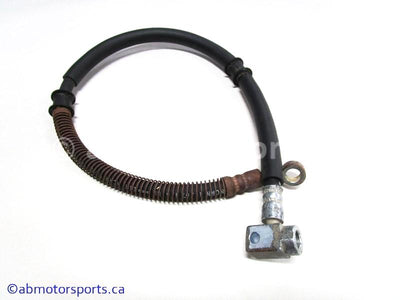Used Yamaha ATV KODIAK 400 OEM part # 1D9-F581J-01-00 brake hose for sale