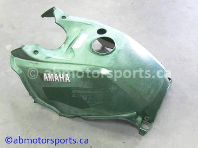 Used Yamaha ATV KODIAK 400 OEM part # 5ND-F171A-50-00 gas tank cover for sale