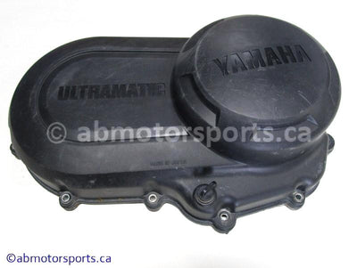 Used Yamaha ATV KODIAK 400 OEM part # 5ND-15431-00-00 clutch cover for sale