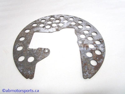 Used Yamaha ATV KODIAK 400 OEM part # 1D9-F514A-00-00 brake disc cover for sale